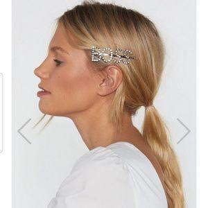 """NEW """"BOSS"""" Hair Slide"""